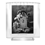 Abraham Lincoln In Memoriam  Shower Curtain