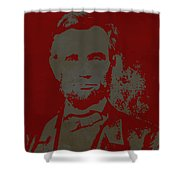 Abraham Lincoln The American President  Shower Curtain