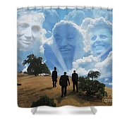 Abraham Martin And John Shower Curtain