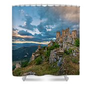 The Last Stronghold, Italy  Shower Curtain