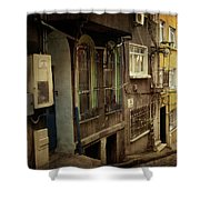 Absence 16 37 Shower Curtain