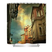 Absence 16 40 Shower Curtain