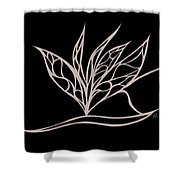 Absent Fairy Shower Curtain