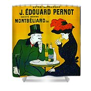 Absinthe Extra-superieure 1899 Shower Curtain