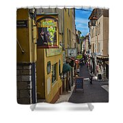 Absinthe In Antibes Shower Curtain