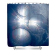 Absorbing Your Light Shower Curtain