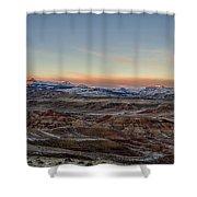 Absoroka Twilight Shower Curtain