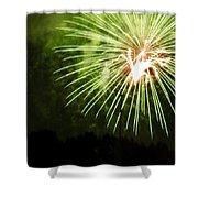 Abstarct Art Five Shower Curtain