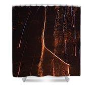 Abstarct Fireworks  Shower Curtain