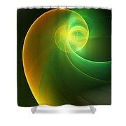 Abstrac3 080210 Shower Curtain