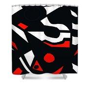 Abstrac7-30-09 Shower Curtain