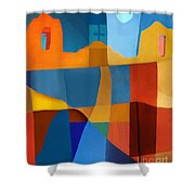 Abstract # 2 Shower Curtain by Elena Nosyreva