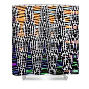 Abstract # 2682 Shower Curtain