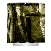 Abstract - 3 Shower Curtain