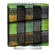 Abstract  - Cinetism Shower Curtain