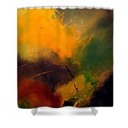 Abstract 0046521 Shower Curtain