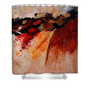 Abstract 010607 Shower Curtain
