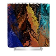 Abstract 010811 Shower Curtain