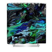 Abstract 011211 Shower Curtain