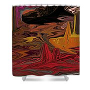 Abstract 011311 Shower Curtain