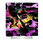 Abstract 011715 Shower Curtain