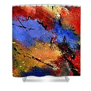 Abstract 012110 Shower Curtain