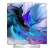 Abstract 012513 Shower Curtain