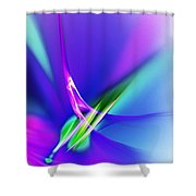 Abstract 012611 Shower Curtain