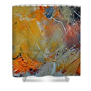 Abstract 015011 Shower Curtain