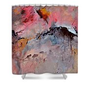 Abstract 015082 Shower Curtain