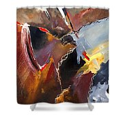 Abstract 020606 Shower Curtain