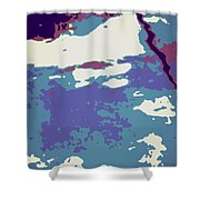 Abstract 021 Shower Curtain