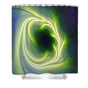 Abstract 021311 Shower Curtain
