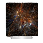 Abstract 022311 Shower Curtain