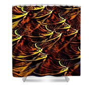 Abstract 022611a Shower Curtain