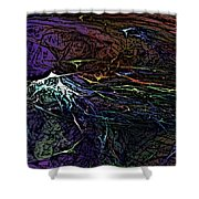 Abstract 030211 Shower Curtain