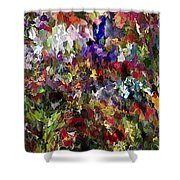 Abstract 032215 Shower Curtain