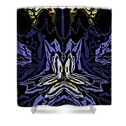 Abstract 032811-1 Shower Curtain
