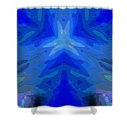 Abstract 032811-2 Shower Curtain