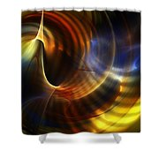 Abstract 040511 Shower Curtain