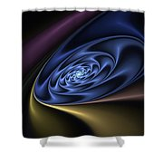 Abstract 040610 Shower Curtain