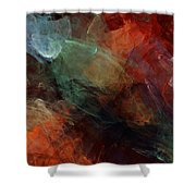 Abstract 042211 Shower Curtain