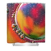Abstract 0423d Shower Curtain