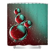 Abstract 0423g Shower Curtain
