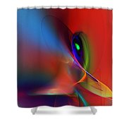 Abstract 042612a Shower Curtain