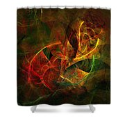 Abstract 051011 Shower Curtain