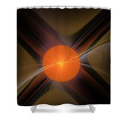 Abstract 051511 Shower Curtain