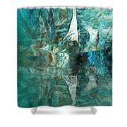Abstract 051515 Shower Curtain