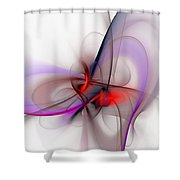 Abstract 051610 Shower Curtain