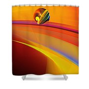 Abstract 052311 Shower Curtain
